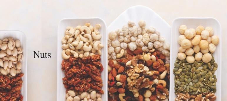 堅果果仁及花生 — 吃出健康人生