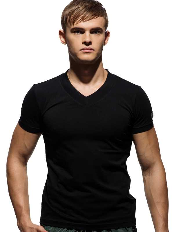 Body Wear Custom Fit V Neck Tee, 2042