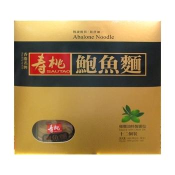 壽桃牌鮑魚麵12個裝 (684克)