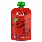 Ella's Kitchen 有機草莓+蘋果 EK217