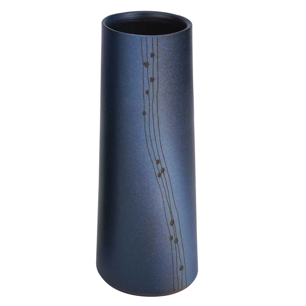 Pottery Vase 21cm(Color two)