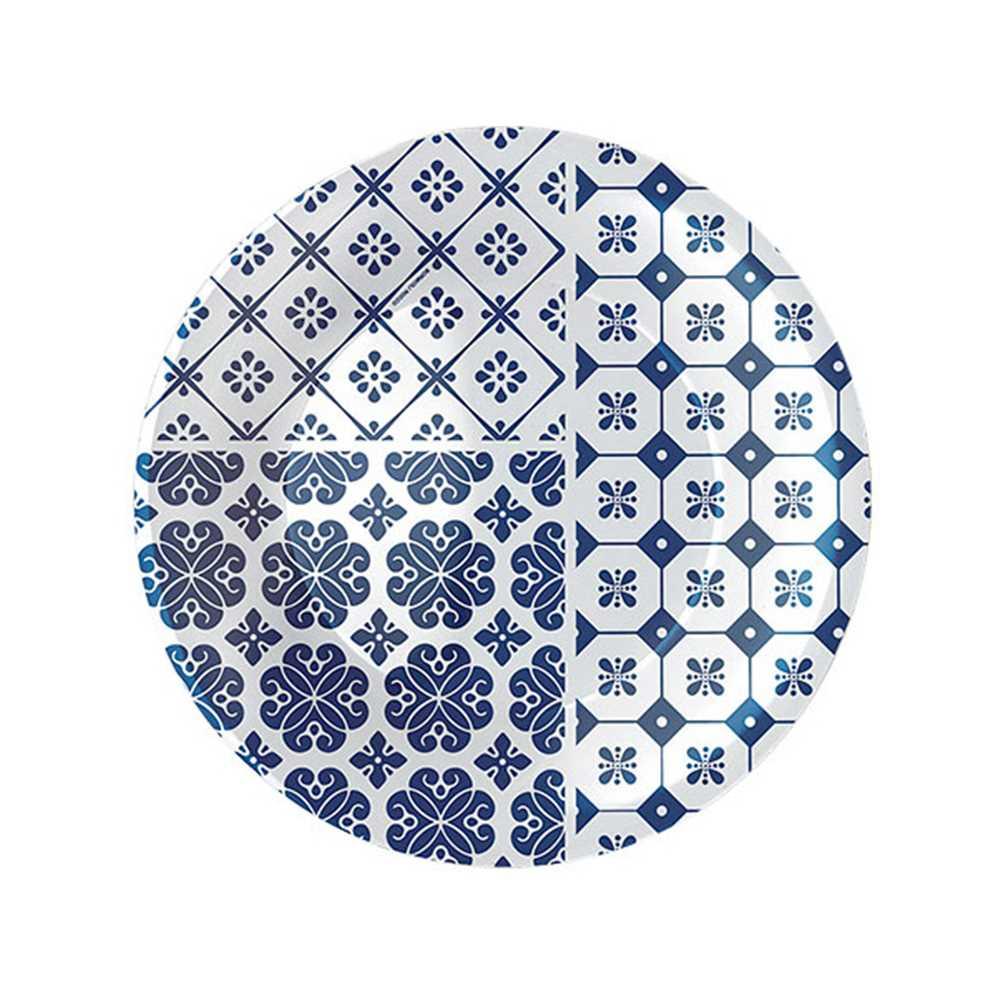 Rocco Vietri Blue Plate 21cm 430134FP2121442