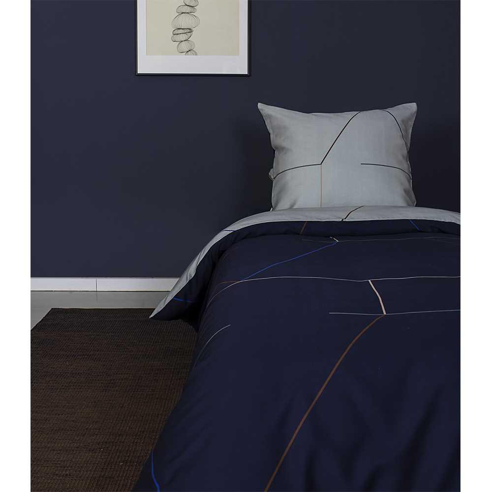 Denmark Brand Mette Ditmer 100% Cotton Bed Set Queen Size (Via Art)