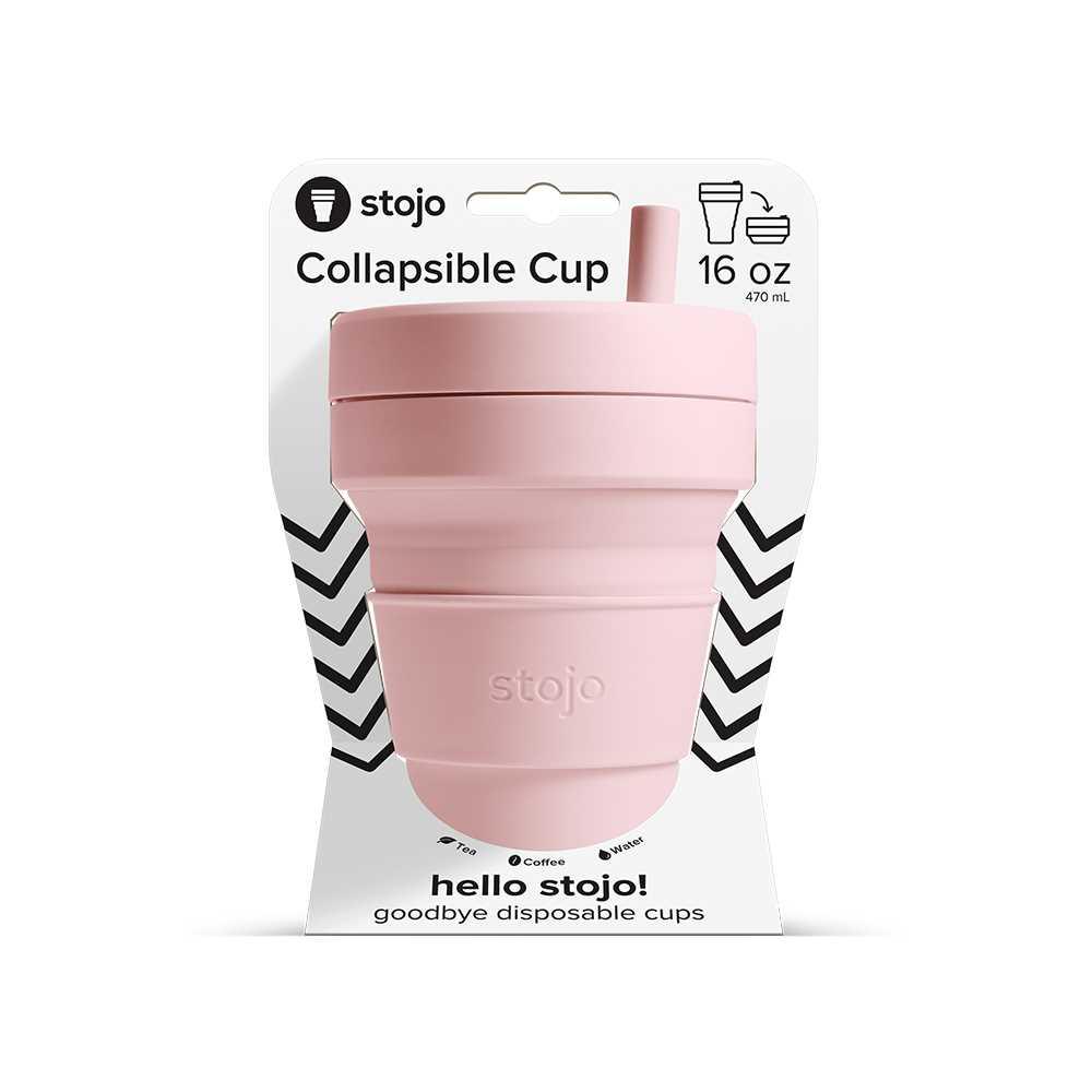 Stojo Biggie Cup 470ml (Carnation) S2-CRN