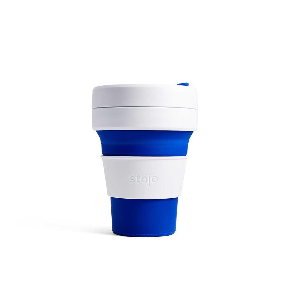Stojo折迭随行杯355毫升(蓝色)S1-BLU