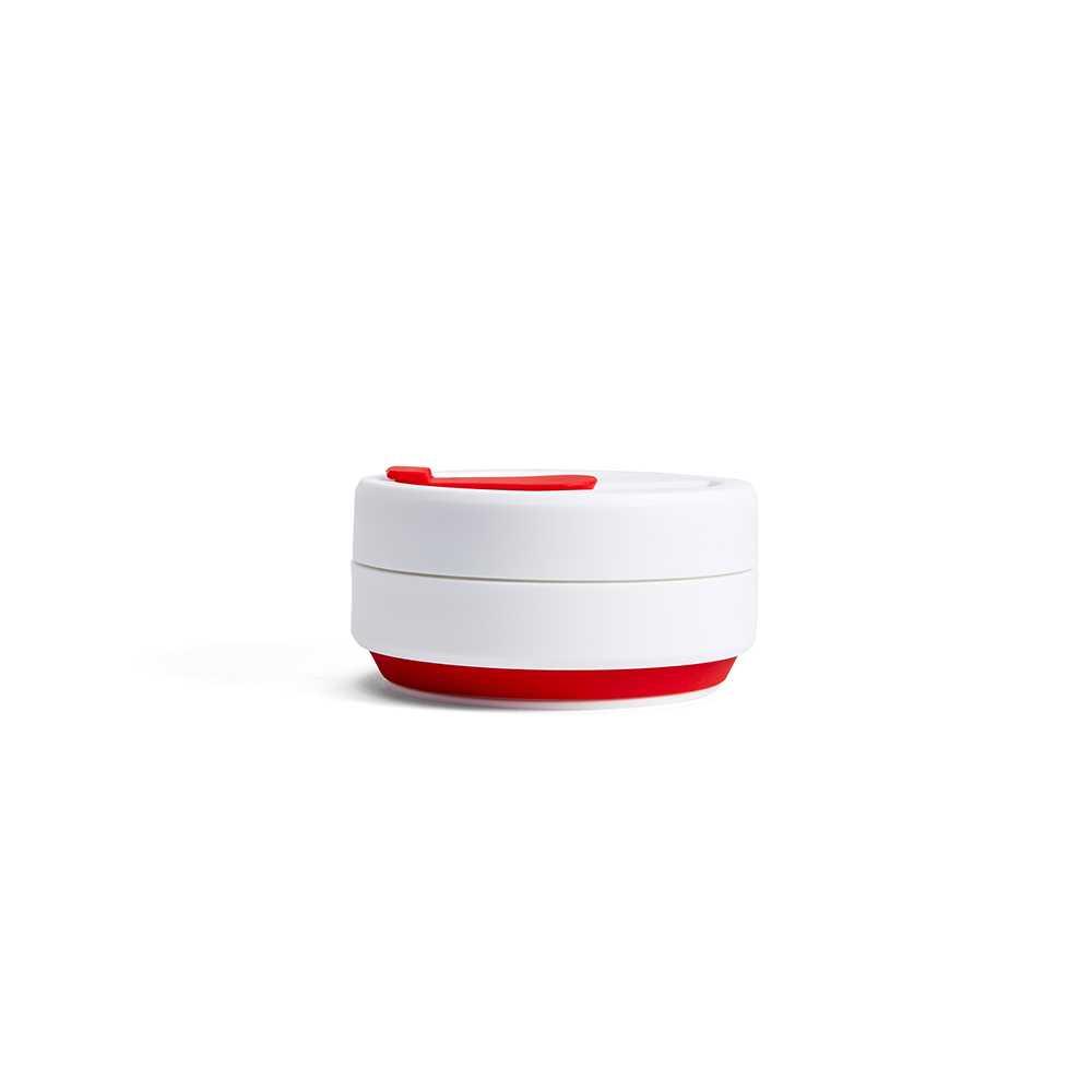 Stojo折迭随行杯355毫升(红色)S1-RED