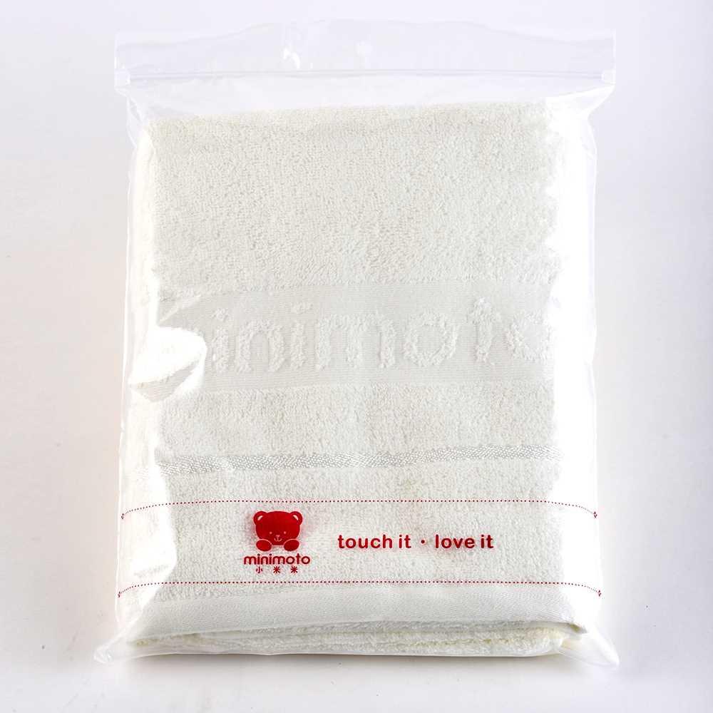Minimoto嬰兒全棉浴巾YA0442W