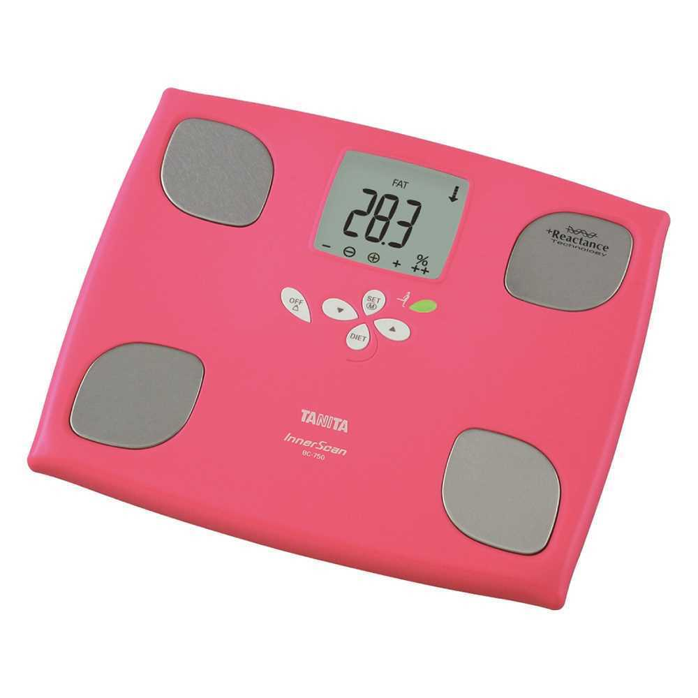 Tanita體重脂肪電子磅BC750(粉紅色)