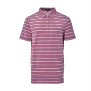 Montagut Striped Polo Shirt TSS1111548-Pink