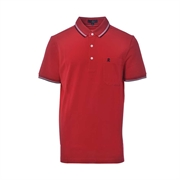 Montagut Classic Fit Cotton Polo Shirt TSS1111535-Red