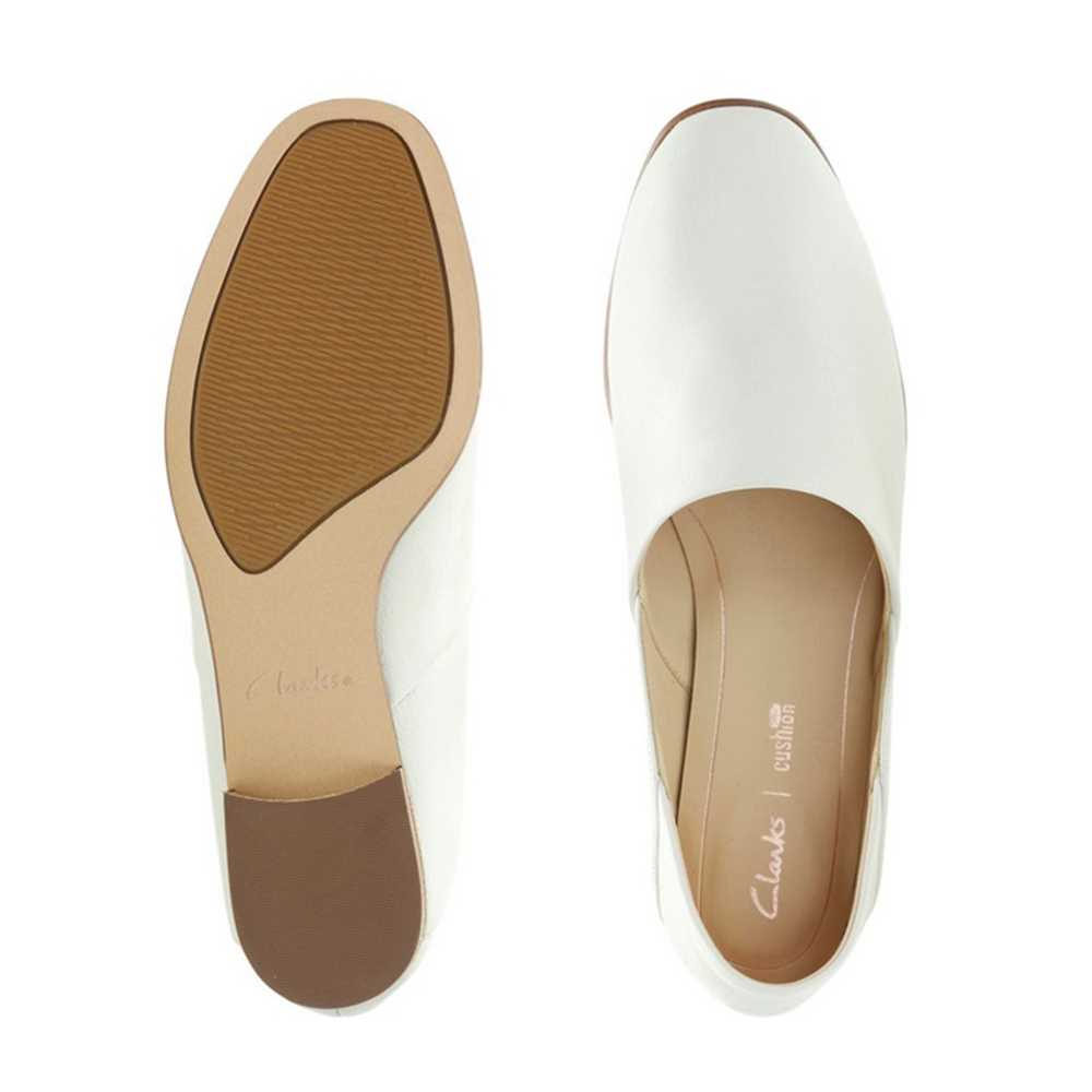 Clarks Ladies Casual Shoes 26132487 4D-White