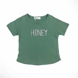 班比奇新款女童短袖圆领T恤00331
