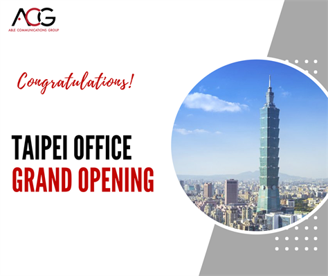 Grand Opening of Taipei Office