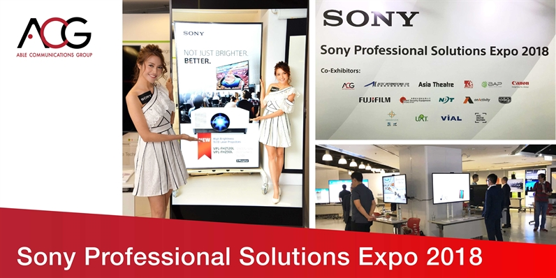 【Sony Professional solutions Expo 2018】
