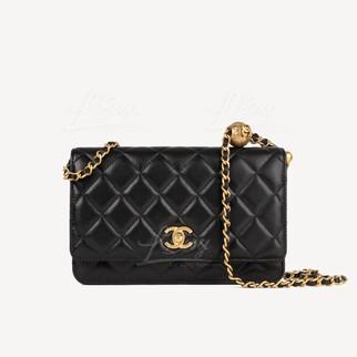 Chanel 小金球 WOC鏈帶包