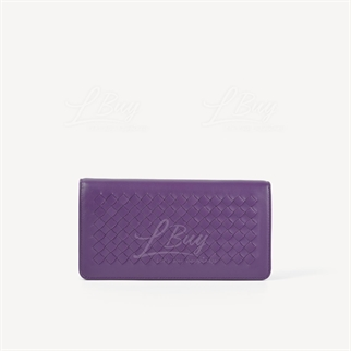 Bottega Veneta 紫色 長型鏈帶銀包手袋WOC