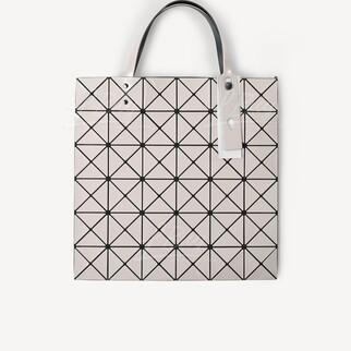 Bao Bao Issey Miyake Lucent Tote Bag 幾何圖案 手挽袋 米色