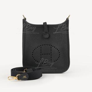 Hermes Mini Evelyne 16 Amazone Bag 黑金