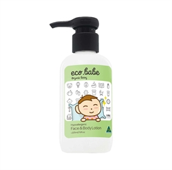 eco.babe organics face & body lotion 225ml