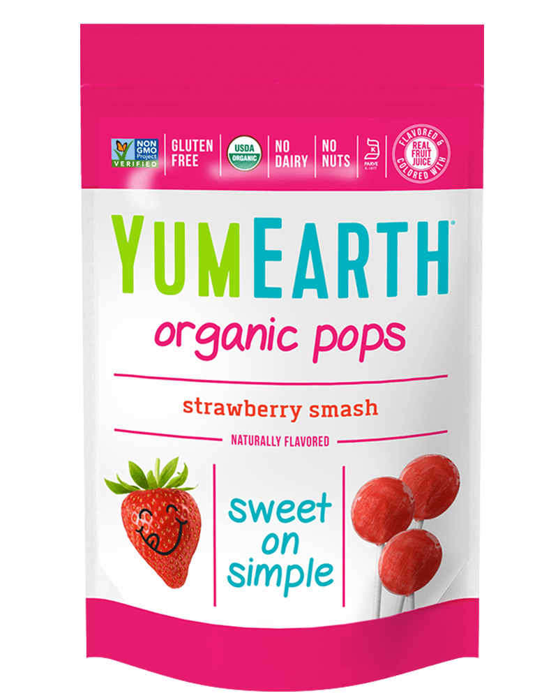 YumEarth Organic Strawberry Pops (14pops)