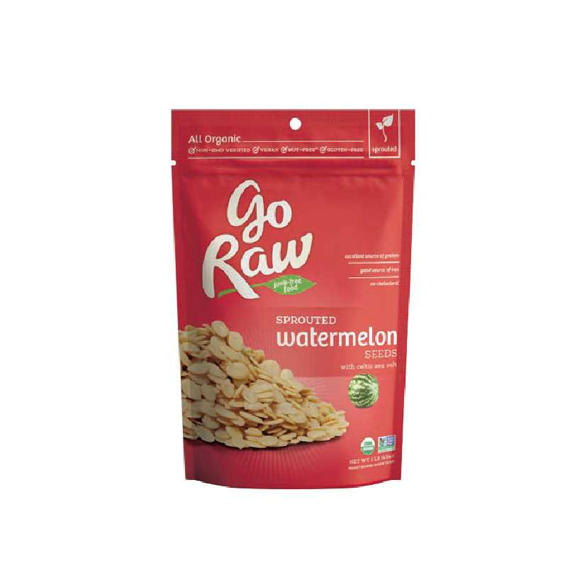 Go Raw Sprouted Watermelon Seed