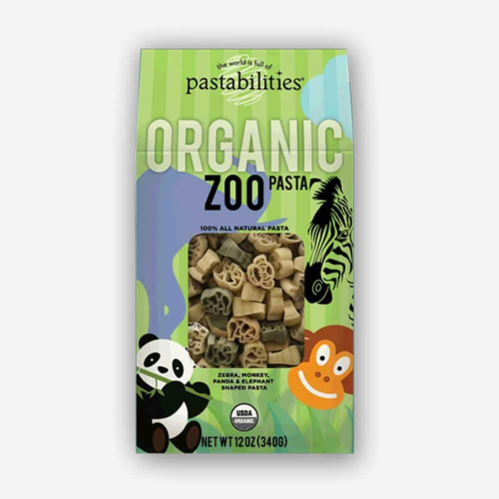 The Pasta Shoppe Organic Zoo Pasta (12oz)