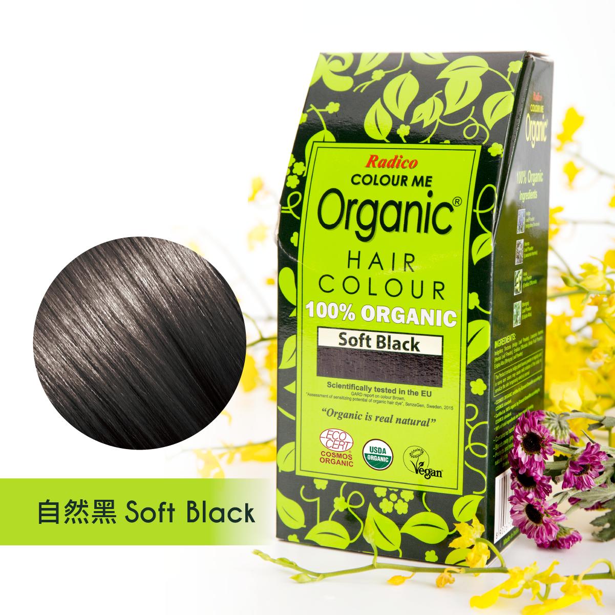 Radico Organic Hair Colour - Soft Black