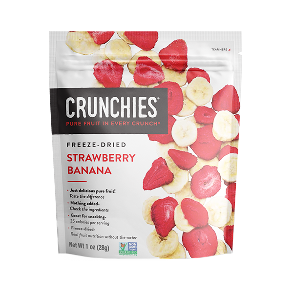 Crunchies Freeze Dried Strawberry Banana