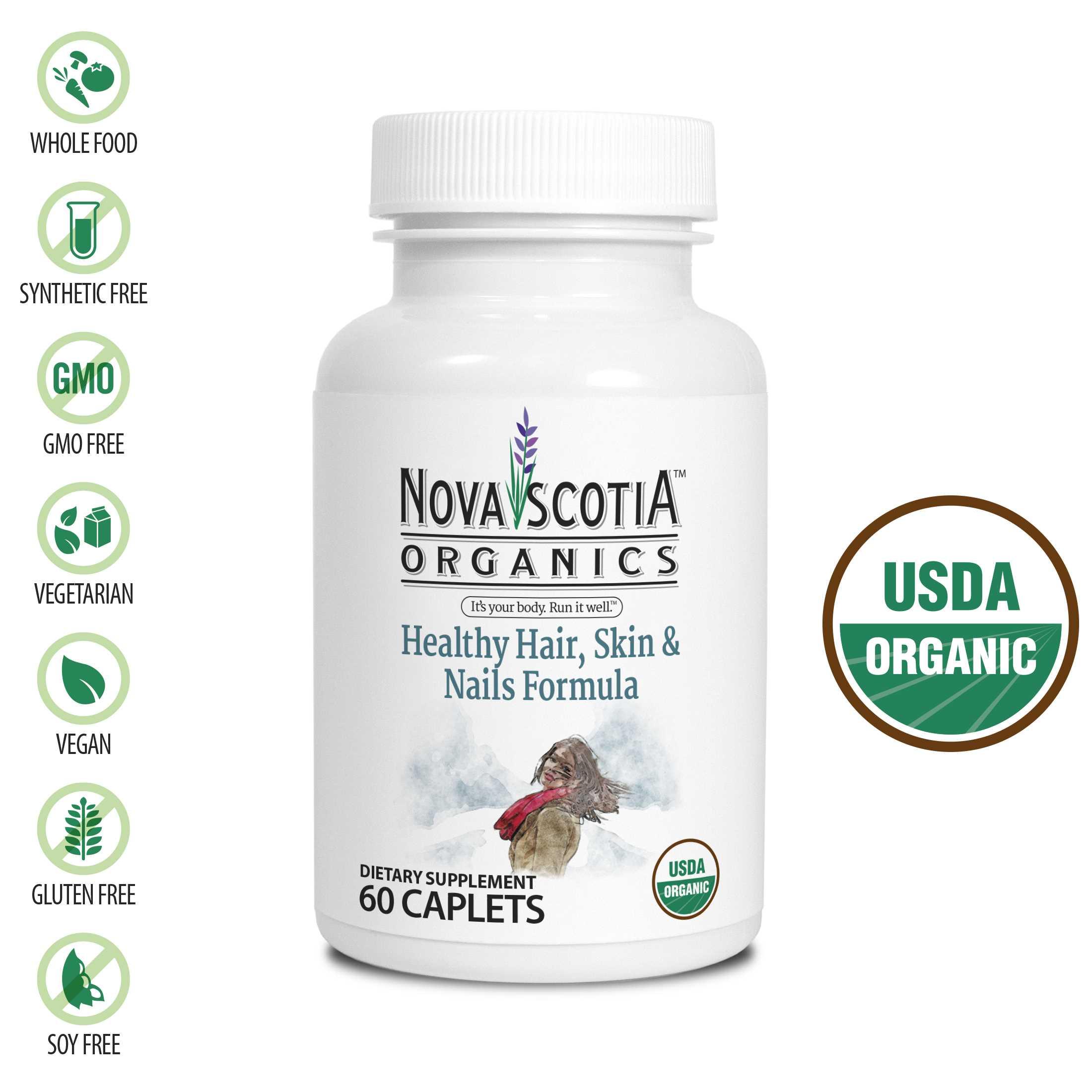 Nova Scotia Healthy Hair/Skin/Nails 60's
