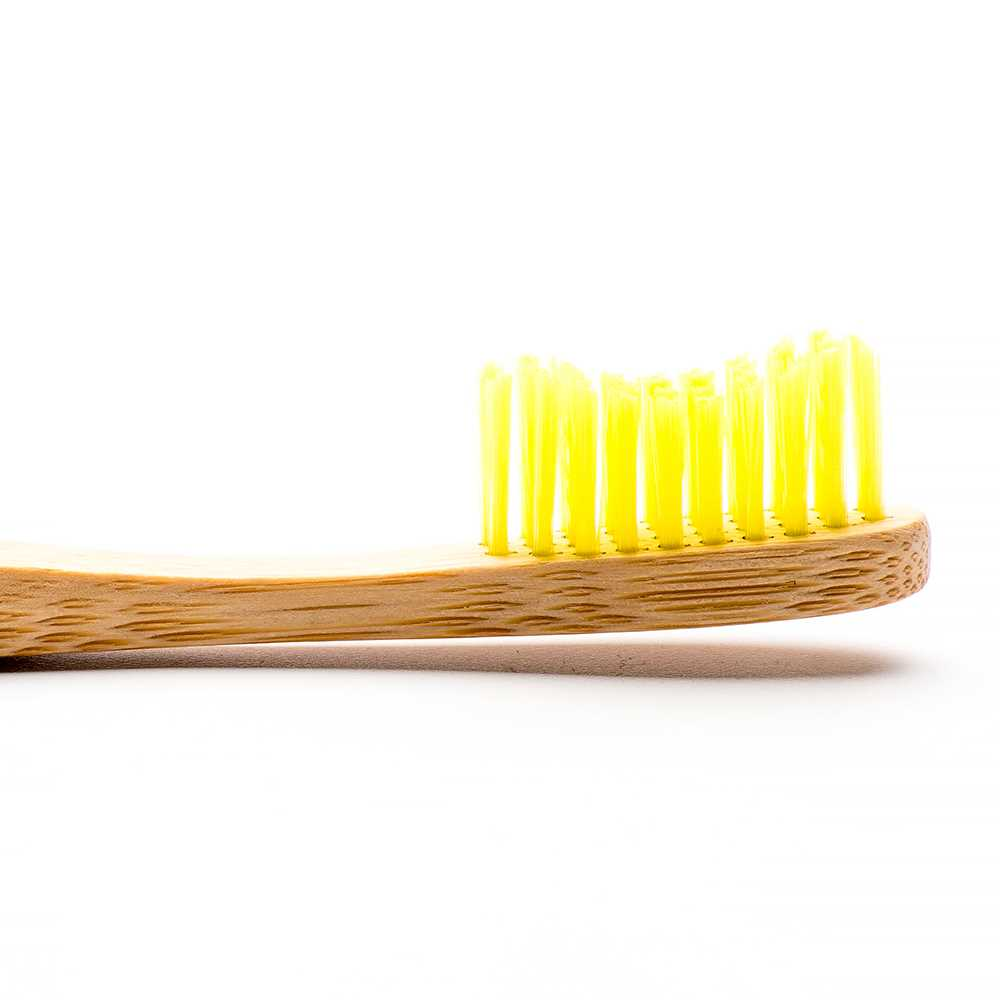 Humble Brush Adult Soft Toothbrush (Yellow)
