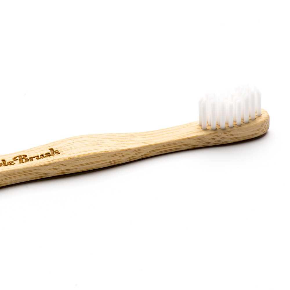 Humble Brush Kids Ultra-Soft Toothbrush (White)