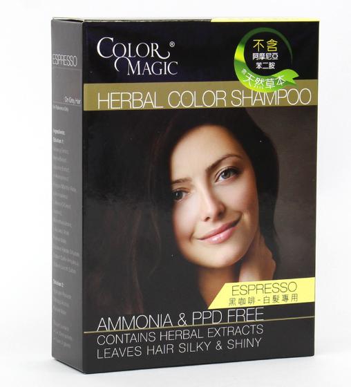 Color Magic (Espresso) Herbal Color Shampoo黑咖啡
