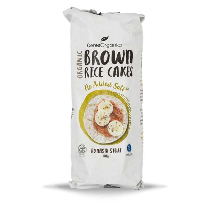 Ceres Organics Brown Rice Cakes(No Added Salt)