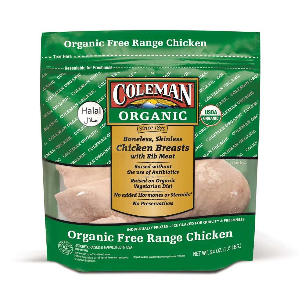 Coleman Org & F.R. Chick. Breast 1.5lbs