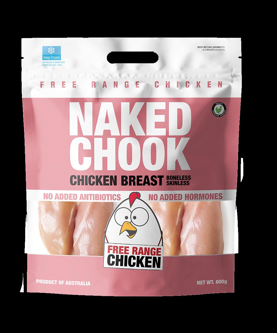 Naked Chock Boneless Skinless Chicken Breast