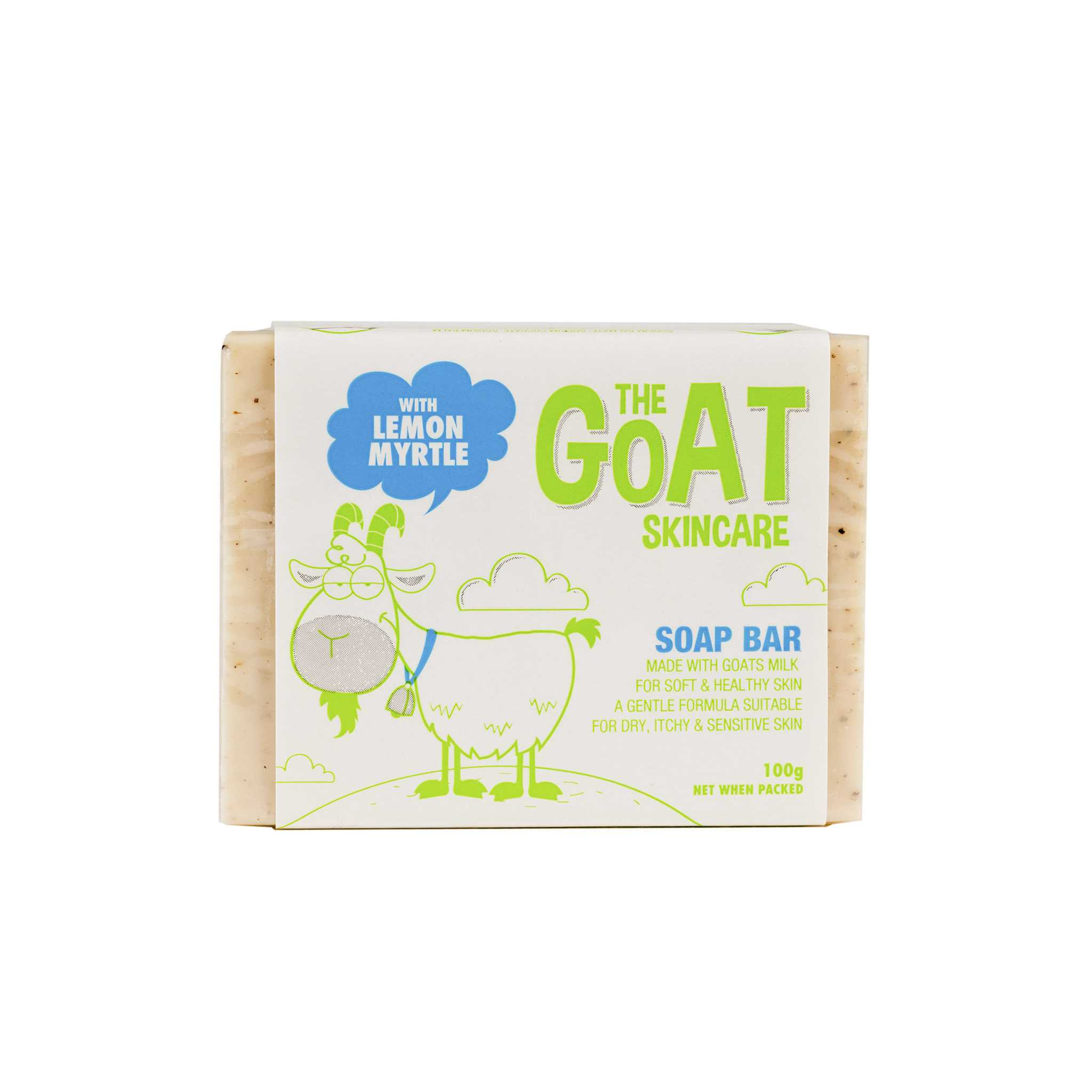 The Goat Skincare Soap Bar - Lemon Myrtle