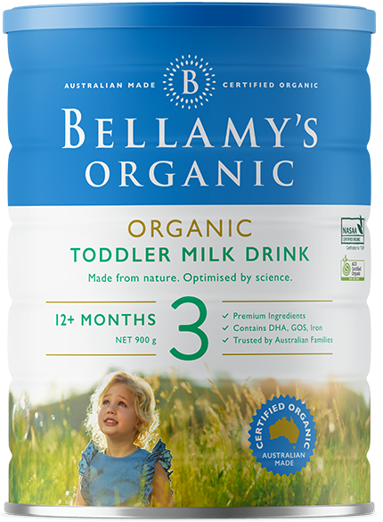 Bellamy Step 3 toddler Drink - Suitable from 12 + months