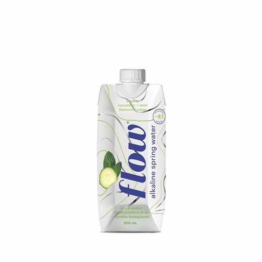 Flow Mint & Cucumber alkaline spring water 500ml