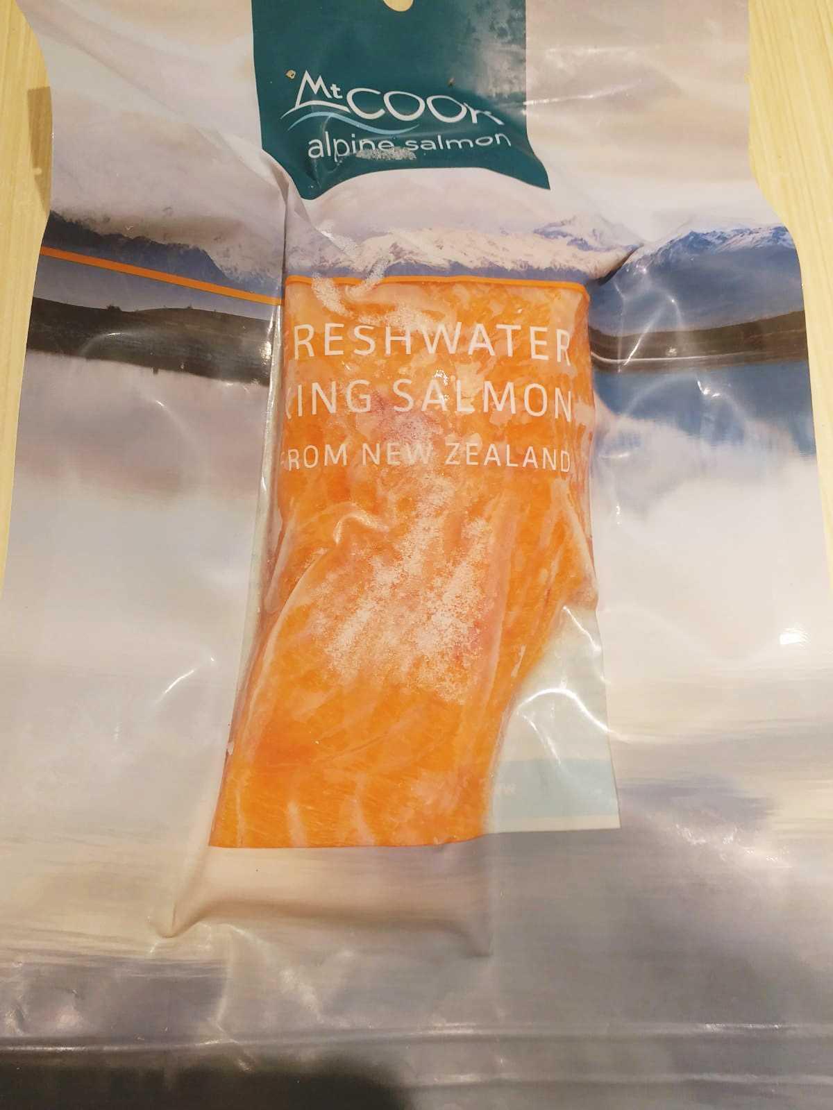 New Zealand King Salmon 三文魚