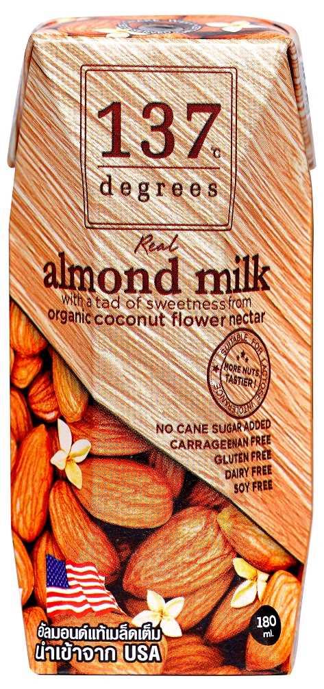 137°c Degress Almomd Milk Original