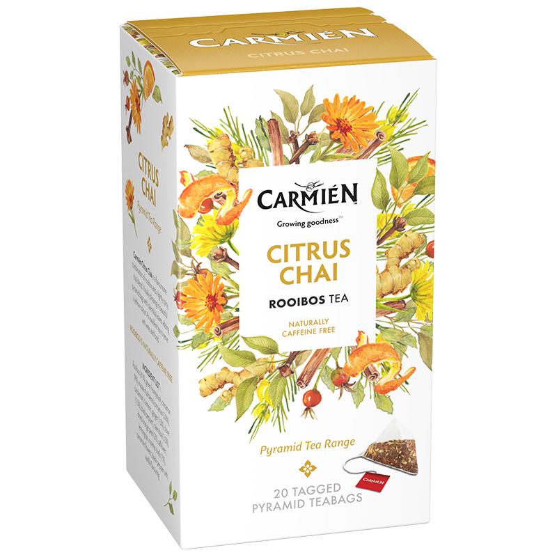 Carmien Pyramid Citrus Chai 20 bags (50g)