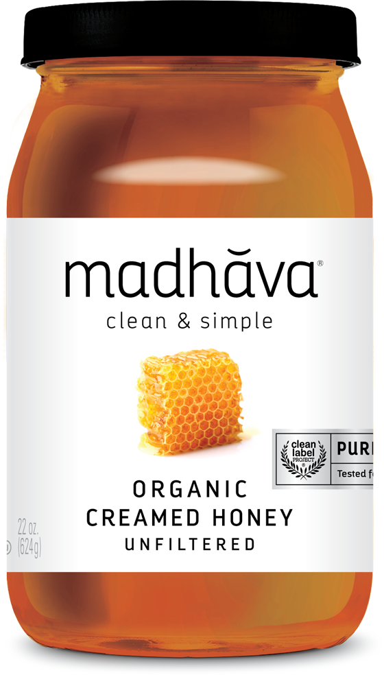 Hadhava Organic Creamed Honey 22oz