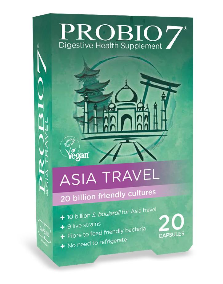Probio7 Asia Travel 20capsules