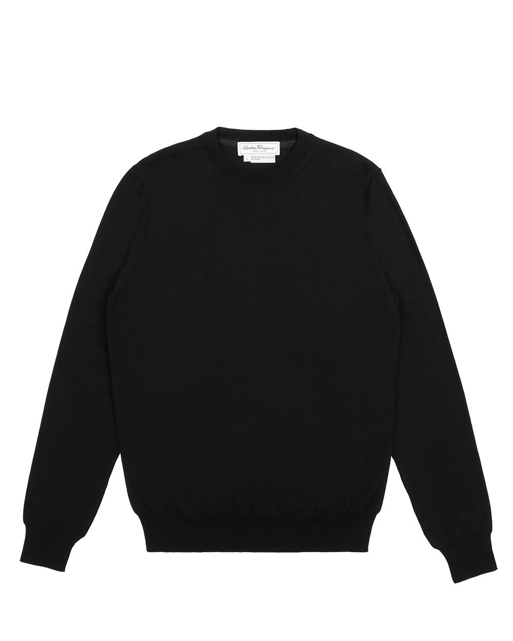 Cotton Round Neck Sweater