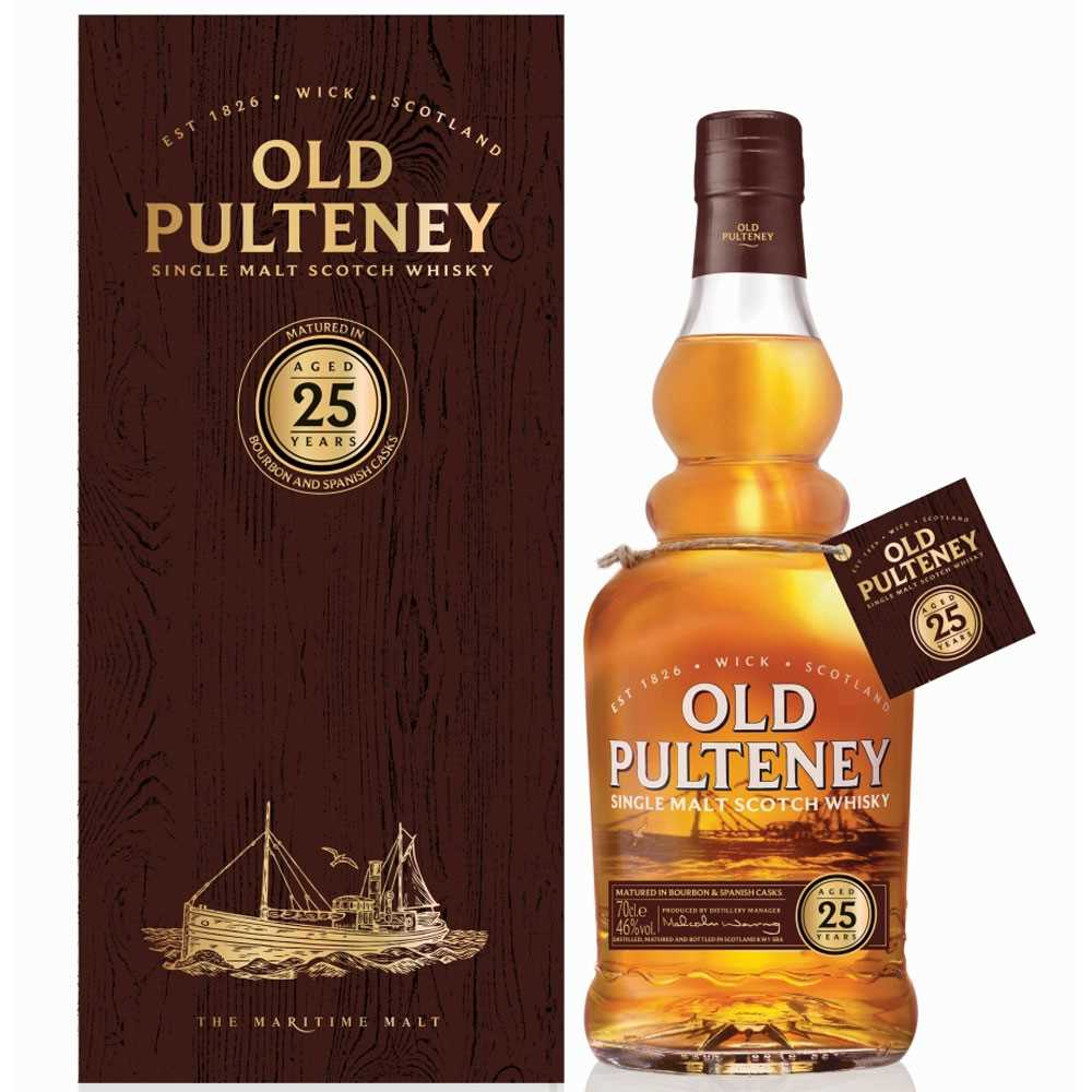 Old Pulteney 25 Year Old (700ml)