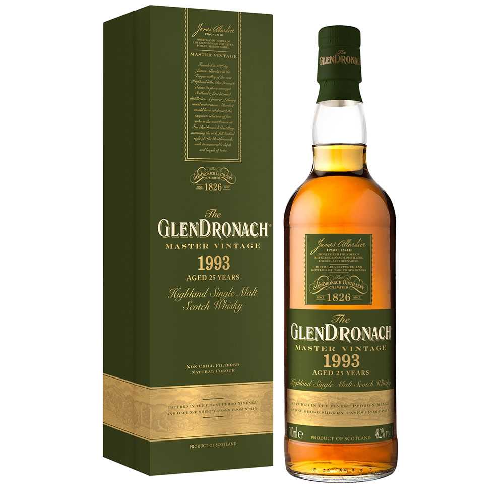 Glendronach 1993 Master Vintage Aged 25 Years (700ml)