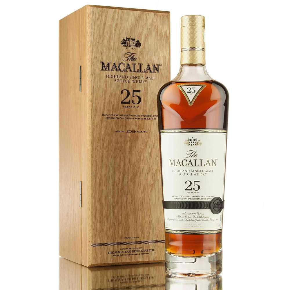 Macallan 25 Year Old Sherry Oak (700ml)