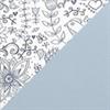 冰藍 (1987)  + 淺藍色拼花圖案(CM#KT70-4)