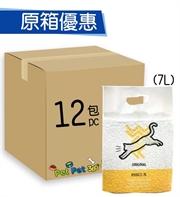 WeWe 韓國秒結豆腐貓砂7L(原味)x12包