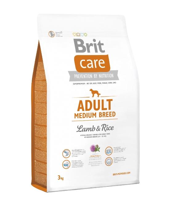 Brit - 成犬羊飯(中型犬) 犬糧